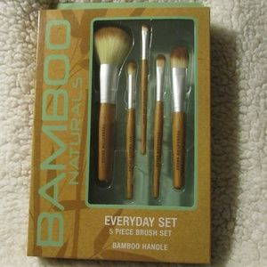 Bamboo Naturals Everyday 5 Piece Make-up Brush Set